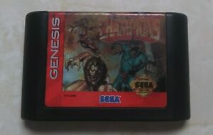 Eternal Champions (Sega Genesis, 1993) - European Version