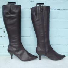 Next Leather Boots Size Uk 4 Eur 37 Sexy Womens Ladies Brown Boots
