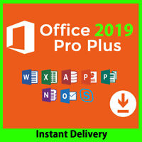 Microsoft Office 2019 Professional Plus Genuine Key with Official Download link