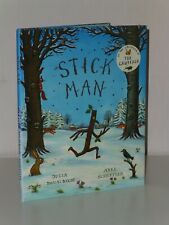 1st Print Stick Man Julia Donaldson Alison Green Books Axel Scheffler 2008 UK HB