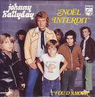 ★☆★ CD SINGLE Johnny HALLYDAY Noël interdit ltd ed CARD SLEEVE ★ RARE ★