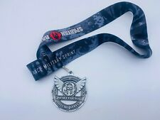 2016  Spartan Sprint Military-Series Finisher  Medal  w/o Trifecta Wedge