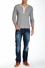 True Religion Straight Leg Jean MMD800TS CMZD Rogue Renegade sz.42$251 NWT