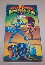 Mighty Morphin Power Rangers - Food Fight (VHS, 1993)