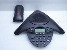 Polycom SoundStation2 2201-16200-601 Conference Telephone With Wall Module