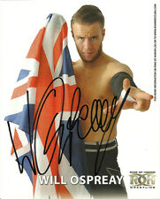 """Official ROH - Ring of Honor Hand Signed """"The Aerial Assassin"""" Will Ospreay 8x10"""