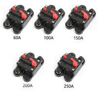 50 - 250A Leistungsschalter Stereo Blow Reset Fuse Schalter Für Car Audio Marine