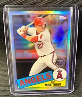 2020 Topps Chrome Mike Trout - 1985 35th anniversary Card 85TC-1 🔥🔥
