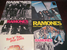 THE RAMONES LIMITED EDITION FOUR 180 GRAM LPS + ROCK N ROLL HIGH & ANTHOLOGY CDS
