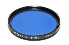 Kood 80B Filter Made in Japan 49mm
