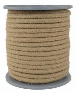 Juteseil - Seil aus Jute - Jutetau - natur - Ø 8mm- Länge 25 Meter geflochten