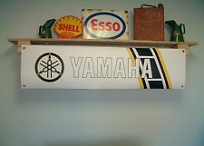 Yamaha YZ retro style workshop or garage banner sign, YZ 465,125,100, 250