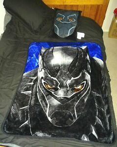 Northwest Black Panther Blanket Throw Pillow Set 2017