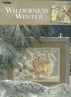 Wilderness Winter in Cross Stitch Wild Animal Designs Leisure Arts 3186
