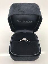 Tiffany Platinum Diamond Engagement Ring