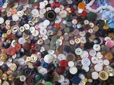 1.5 pound Lot Vintage Antique Buttons Variety Shapes Sizes Colors Sewing Crafts