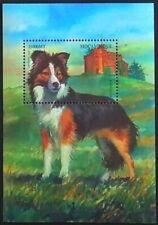 Mozambique 1999 MNH MS, Dog, Pets, Border Collie