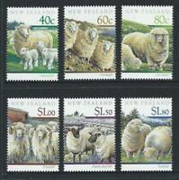 1991 New Zealand~Sheep Breeds~Unmounted Mint~Stamp Set~ UK Seller~