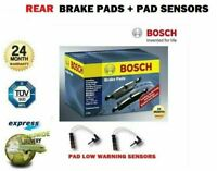 Rear Axle BRAKE PADS and SENSORS SET for MERCEDES ML280 CDI 4matic 2005-2009