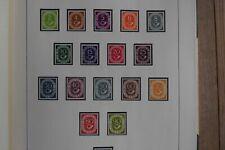 Posthornsatz  Postfrisch !!!  BRD 1951  Michel Nr.123-138 komplett postfrisch !