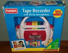 Vtg 1993 Playskool Tape Recorder With Dual Microphones New In Box