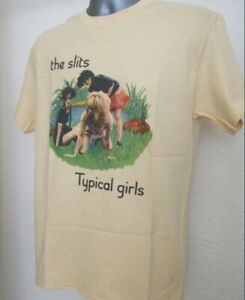 The Slits T Shirt Typical Girls Punk New Wave Music Cut Adverts X-Ray Spex W036