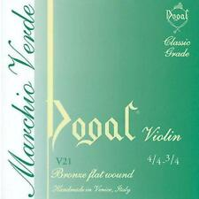 DOGAL V21 VERDE  CORDE SINGOLE PER VIOLINO - VARIE MISURE