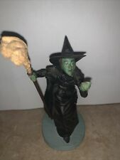Wizard Of Oz Wicked Witch Of The West Franklin Mint Vintage 1988 *read*