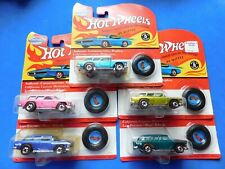 HOT WHEELS VINTAGE COLLECTION NOMAD LOT 5 DIFFERENT DIORMA READY