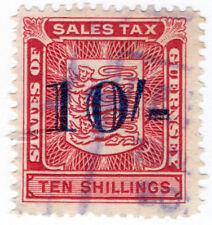 (I.B) Guernsey Revenue : Sales Tax 10/-