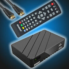 Edision Proton FullHD DVB-S2 Sat-Receiver USB HDTV HD-Reseiver inkl.HDMI-Kabel