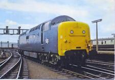 Class 55 Deltic 55003 MELD Newcastle unused 1977 postcard