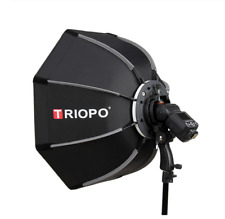 Triopo 90cm Portable Octagon Softbox für Speedlight Flash Bracket with Handgrip