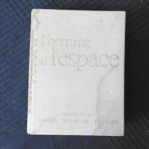 LIVRE L HOMME ET L ESPACE CADEAU PUBLICITAIRE BANQUE NATIONALE DE PARIS 1972