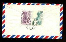 Peru 1958 Air Mail Cover To Sweden #C1755