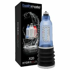 AUTHENTIC Bathmate HYDROMAX X20 Water HydroPump Penis Enlarger pump AQUA BLUE