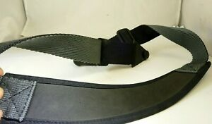 """neck shoulder strap for camera case with round plastic clips 2.5"""" wide"""