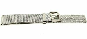 Stainless steel mens watch strap band 18 mm universal band strap