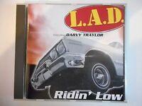 LAD feat. DARVY TRAYLOR : RIDIN' LOW  || CD ALBUM | PORT 0€ !