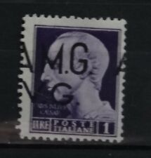 AMG VG  1945  1 lira   varieta'   mnh **