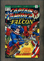 VHTF 1976 Captain America #196 VF- 30 Cent Price Variant 1st Print Marvel Falcon
