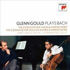 GLENN GOULD Plays Bach Sonatas For Violin & Harpsichord/Viola Da Gamba 2CD NEW