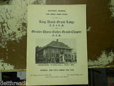 KING DAVID GRAND LODGE - June 15, 1968 - Greater Queen Esther Grand Chapter
