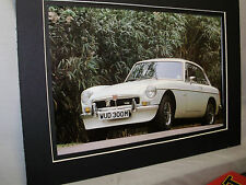 1973 MGB GT V8 MG  60th Anniversary Exhibit Color Poster Automotive Museum