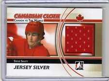 STEVE SHUTT 10/11 ITG Canada vs the World Canadian Cloth Jersey SILVER #CCM-23