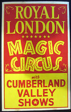 Royal London Magic Circus Window Card
