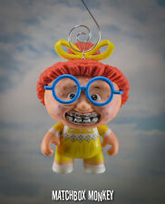 GPK Ghastly Ashley  Christmas Ornament Garbage Pail Kids Vinyl Figure Adorno TV