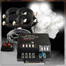 120W 4 HID Bulbs Hide A Way Emergency Hazard Warning Flashing Strobe Light Kit 6