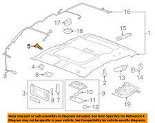 GM OEM Interior-Sunvisor Clip 11609314