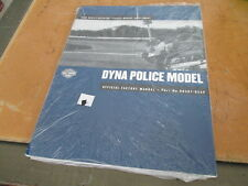Harley Davidson DYNA Police Model 2002 Factory Service Manual Supp 99481-02SP